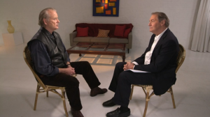 Bill Murray and Charlie Rose